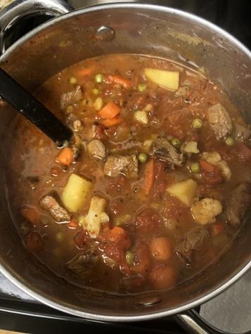 Veggie & Beef Soup